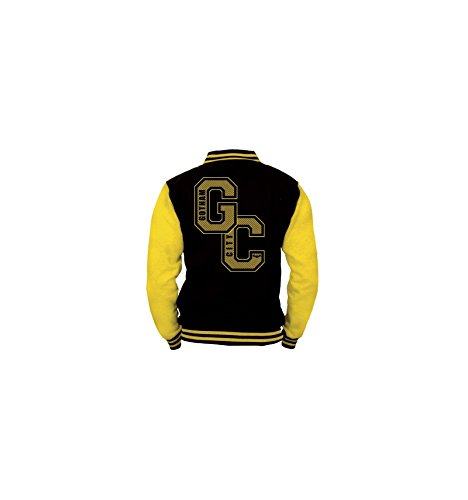 Batman Gotham City Giacca college nero/giallo XL