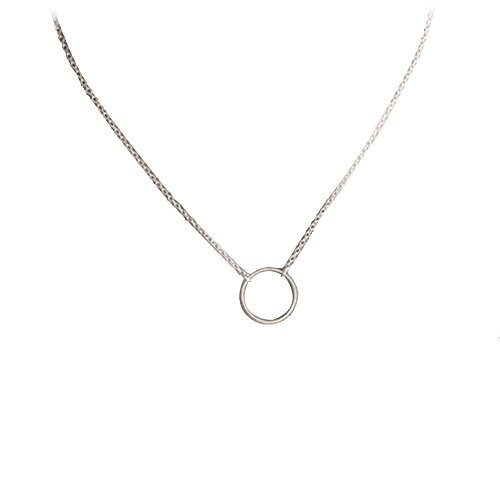 angelof-femme-simple-petit-cercle-glands-chian-bar-bohemia-alliage-collier