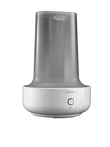 DeLonghi UHX17 Humidificador, 200 W, vapor caliente y humidificación fresca, depósito extraíble 1.6 L, 7h de funcionamiento, indicador de Auto apagado, plástico, blanco