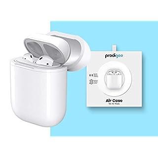 Prodigee AirCase Schutzhülle für Apple AirPods, kabellos, Bluetooth, Weiß