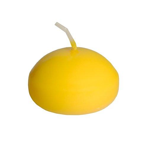 Papstar candele galleggianti, diametro 45mm, di colore giallo 13790