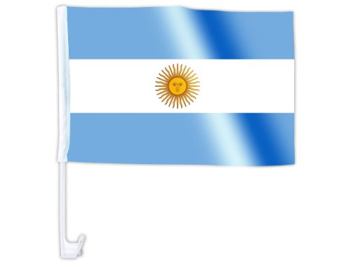 Autofahne Autoflagge Argentinien 30 x 45 cm