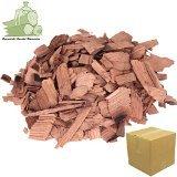 Brennholz Handel Warnecke Wood Chips Grill Mix Kirsche,Buche,Erle,Eiche und Haselnuss – je 1 Liter Räucherchips für Grill und Smoker BBQ