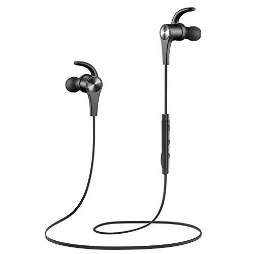 Versión mejorada Auricular magnético SoundPEATS Auriculares Bluetooth 4.1 Cascos inálambrico Deportivos , tecnología APTX y de Ruido de Cancelación CVC 6.0,Sonido Estéreo de calidad superior