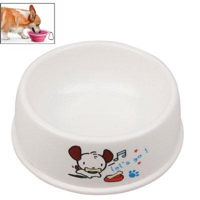 zhou-Haustier, Hochwertige umweltfreundliche PP Plastikhundeschüssel Haustier-Wasser-Zufuhr-Schüssel