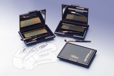 Tana Eye Brow dark 8g, Augenbrauenpuder, 3 dunkle Farben, semipermanent