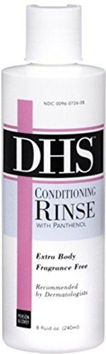 Pack of 8: DHS Conditioning Rinse Fragrance Free Extra Body 8 oz (Pack of 8)