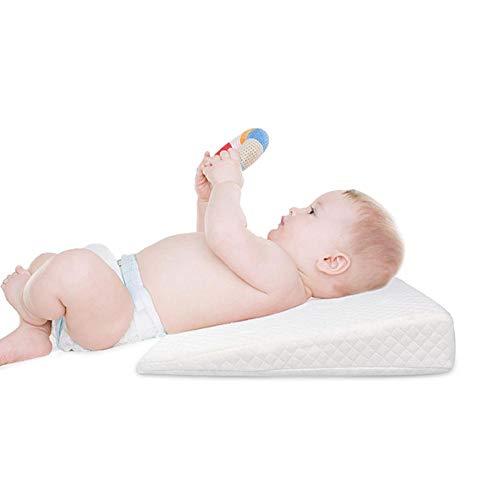 happygirr Cuña Antireflujo Bebe | Almohada Inclinada para cólicos bebé -...