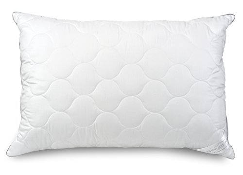 Priceless Pillow Luxus-Kissen - 100% Tencel-Stoff, weich, hypoallergen, sehr fein, Virgin Gel-Fasern, King weiß -