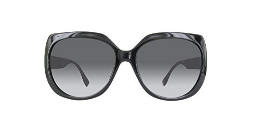 Fendi Damen FF0047FS-D28-59 Sonnenbrille, Schwarz, 59
