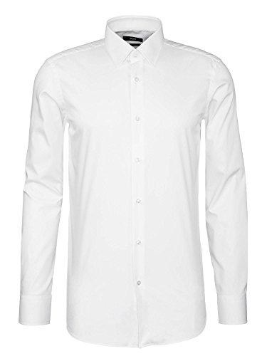 Boss Hemd Enzo Für Herren in Weiß, 40
