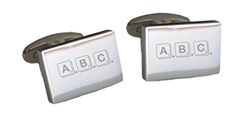 fuentes-de-la-peliculas-grabado-en-peronalised-gemelos-scrabble-font-talla-unica