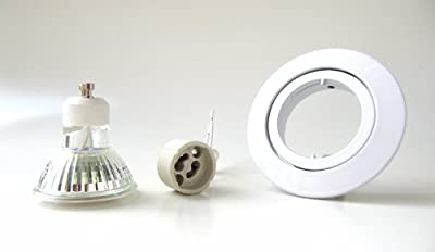 20er-Set LED Einbaustrahler PAGO 230V Farbe: Weiß - inkl. austauschbarem LED-Leuchtmittel wahlweise in Warm-Weiß oder Kalt-Weiß von Licht-Visionen Deutschland auf Lampenhans.de