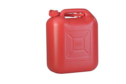 Preisvergleich Produktbild Kraftstoff-Kanister STANDARD 20l für Benzin, Diesel und andere Gefahrgüter, UN-Zulassung, made in Germany, TÜV-geprüfter Produktion, rot