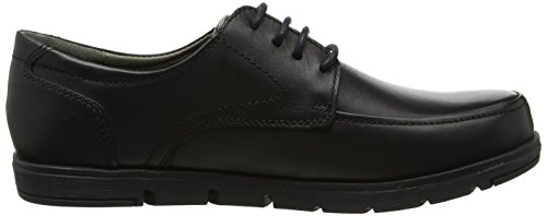 Hush Puppies H104463, Scarpe Stringate Uomo Nero (Black)
