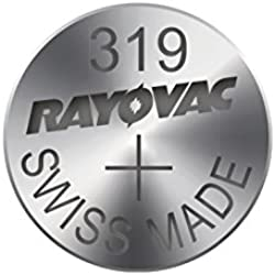 Rayovac Silver Oxide 1.55V Swiss Made Quartz Watch Battery - 319 SR64 SR527SW