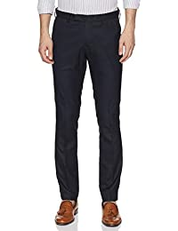 US Polo Men's Straight Fit Casual Trousers