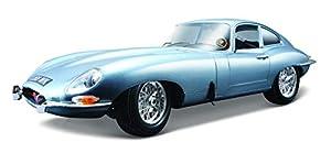 Bburago 18-12044  - Oro Collezione 1:18 Jaguar E Coupe 1961 Gris
