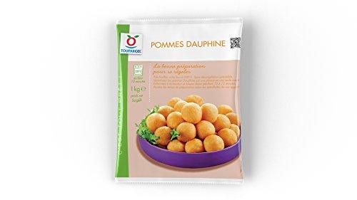 TOUPARGEL - Pommes dauphine précuites - 1 kg - Surgelé
