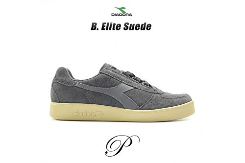 Diadora - Diadora B. Elite Suede Antracite - 501.170952 75070 - EU 40.5 - UK 7 - US 7.5 - JP 25.5