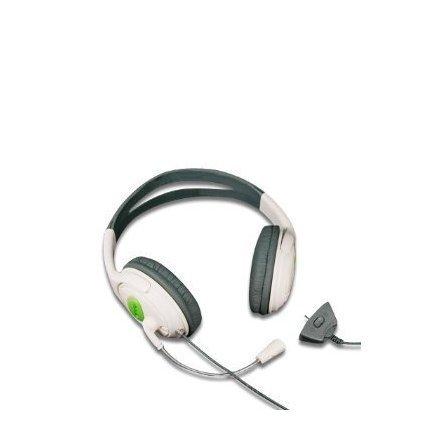 Xbox 360Breite Stil (Kopfhörer und Mikrofon) für Xbox 360Spiel Online mit der Münzen Ohrstecker aus Schaumstoff für den Komfort und den Arm Micro verstellbar und Lautstärkeregler ()