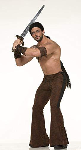 Forum Novelties Mittelalter Krieger Kostüm Hose