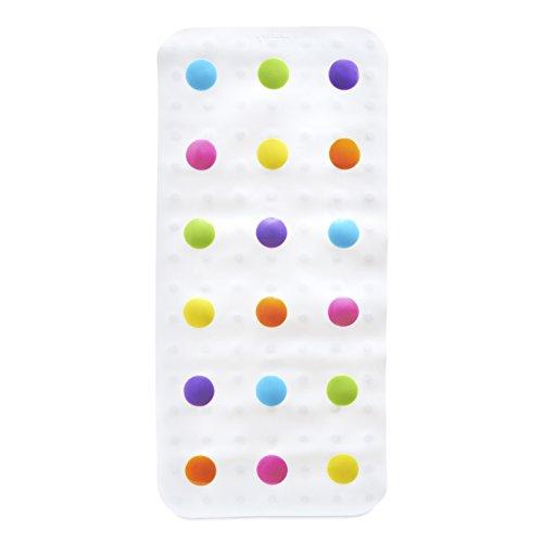 munchkin-tapis-de-bain-rigolo-pois-multicolore