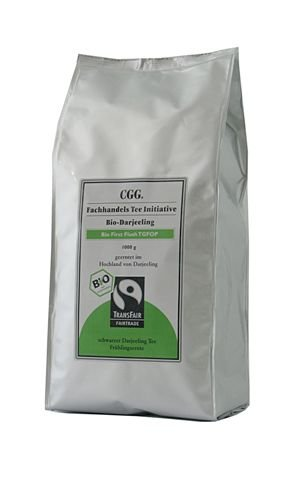 Abraham´s Tea House -Bio Fairtrade Darjeeling first flush FTGFOP1 Tee Initiative 1kg