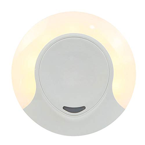 Slosh luce notturna bambini led presa con sensore di crepuscolo automatica luce notte interruttore lampada parete per bambino camera cameretta bagno cucina garage
