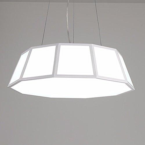 LWYJRXDD Deckenleuchte/Moderne Minimalistische Studie Kronleuchter Restaurant Lichter Bar Tabelle Kreative Esszimmer Beleuchtung Lampen, 32W, Kaltweiß -