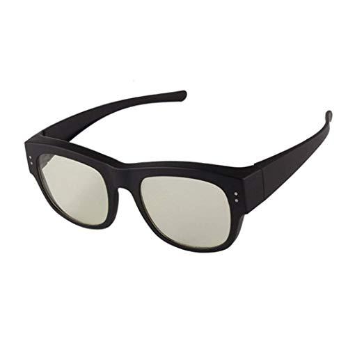 Yuany Sonnenbrille Anti-Strahlung Brille Handy Computer Anti-blaues Licht kann von Myopie Spiegel Arbeitsspiel eingestellt Werden, um Augenkomfort Schutzbrille zu halten