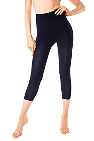 MD Sport Leggings Shapewear Kleid Body Shaper Mieder Figurformer Miederhöschen Small Schwarz