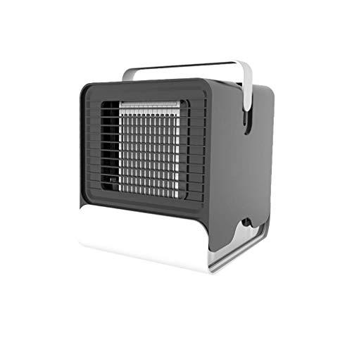 MMKKT Persönliche Raumklimaanlage, Raumluftkühler, Luftbefeuchter, Luftreiniger, Desktop-Lüfter mit für das Büro zu Hause (Color : B)