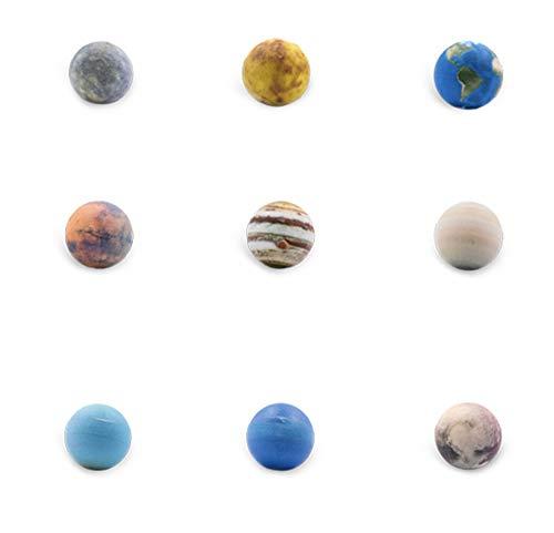EP-Toy Juguete Modelo 3D del Sistema Solar Planet, Modelo Planet de 300 mm AR, Regalos y artículos de colección (9PCS)