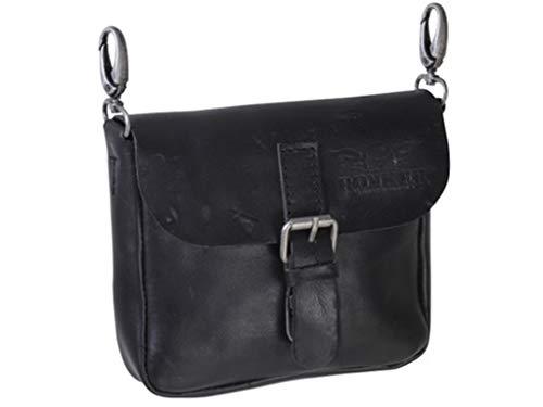 Rokker Belt Tasche Schwarz - Schwarz Belt Tasche