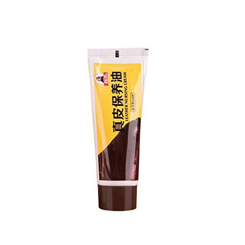 Pelle Naturale per la Cura della Pelle condizionata Crema di Pelle Riparazione Stucco Restauro in Pelle Crepe Fori di ustioni 8 Colori (B)