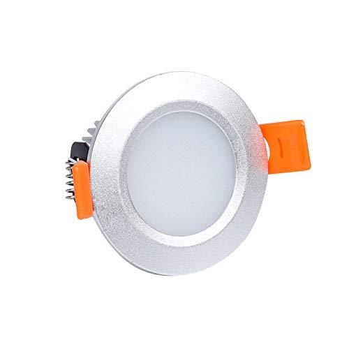 Iluminación De Techo De InteriorledDownlight Embedded3WOpening2.2Inch Living Room Aisle Hole Light