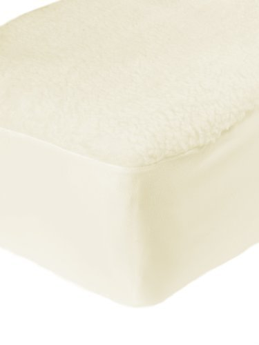 Thermal Fitted Fleece Underblanket Faux Sheepskin Mattress Protector Cover Superking Bed Size