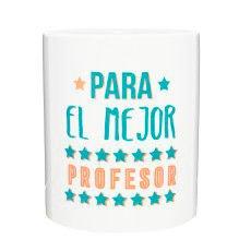 Tic-Clap Profesiones Taza para el Mejor Profesor, Porcelana, Blanco, 8