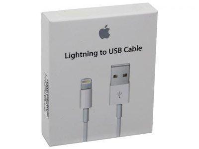 Original Apple Lightning 8 Pin auf USB-Datenkabel/Ladekabel für iPhone 5 / 5S / 5C / 6 / 6S, iPad Mini Air oder iPod Original Verpackt, inkl. CarolinaSale Schutzfolie für Das iPhone 5 5S