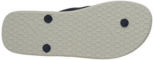 O'Neill - Fm Profile Pattern Flip Flops, Scarpe da Spiaggia e Piscina Uomo Blanc (White Aop)