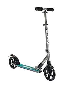 Ozbozz Torq Aero - Patinete para Bicicleta, Color Negro