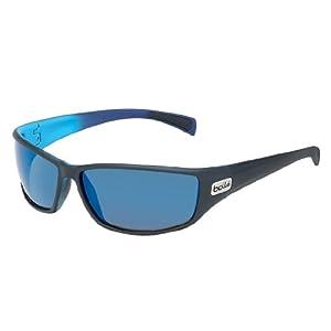 Bollé Sonnenbrille Python, Mat Black/Blue, One size, 11693