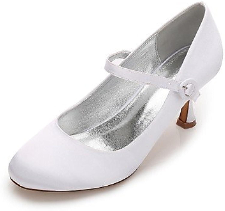 Le meilleur cadeau pour femme et mère Printemps Femme Chaussures Satin Printemps mère Eté Confort Mary Jane Escarpin Basique... 473861