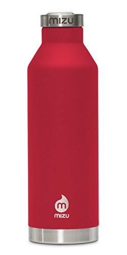 Preisvergleich Produktbild MIZU V8 Isolierflasche mit Schraubdeckel - BPA-frei 800 ml - 27 oz Enduro Red