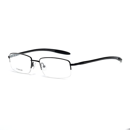 pure titanium eye glasses frames for men rimless eyeglasses titanium