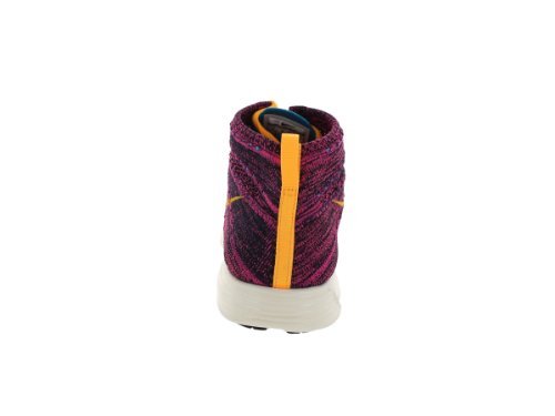 - Basket Lunar Flyknit Chukka Bordeau 554969 085 Bordeaux