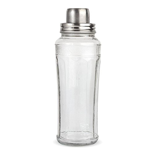 Home Essentials & Beyond Mixology Cocktail Shaker, 33oz, Klar