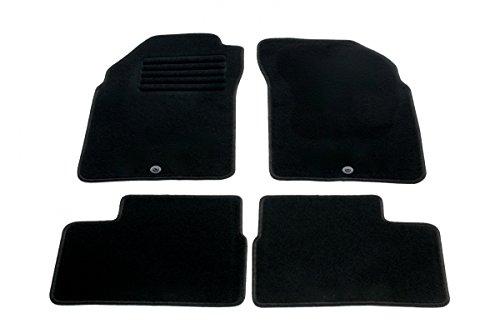 Preisvergleich Produktbild Nissan Micra (K11) ab Bj.11/1992-01/2003 Fußmatten Set Velours, schwarz