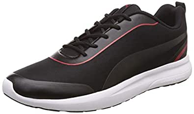Puma Men's Black-Ribbon Red Sneakers-7 UK/India (40.5 EU) (4060979133303)